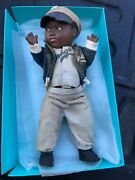 Wow Jackie Robinson Vintage Original 1950 Allied-grand Mfg. Doll Rare Ex Cond