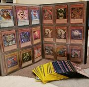 267 Yugioh Cards+2 Competition Sleeves+ultra Pro Collectors Album+5 Hard Covers