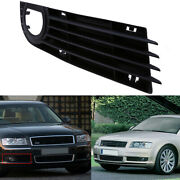 Front Bumper Lower Right Fog Light Grill Cover Black For Audi A8 D3 2006-2008