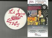 Darren Mccarty Signed And Inscrtibed F Lemieux Detroit Red Wings Puck Jsa Coa