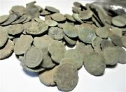 Uncleaned Ancient Coins 10 Coins Roman 27bc-370ad