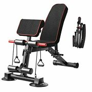 Adjustable Weight Bench Utility Weight Benches For Full Body Workout Foldable