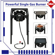 Powerful Single Gas Burner Stove Bbq Cooker Portable Outdoor Garden Party Camp