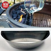 22 In Low Slow Cooker Charcoal Bbq Kettle Grill Gourmet Tools Insert Smoker Pit