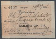 New Zealand 1916 Meter Marking Bailie And Co Die C2 Id38/d60940