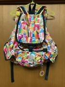 Lesportsac X Disney Collaborated Mary Blair It's A Small World Backpack