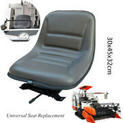 Tractor Seat Universal Replacement Adjustable Forklift Driver Suspension Seat