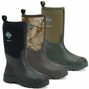 Mens Muck Boots Derwent Ii Mid Stable Farm Wellington Wellies Sizes 4 To 13