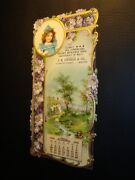 Circa 1904 Costello And Co Store Calendar W/beer Advertisements