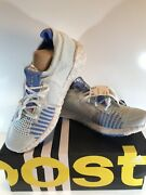 New Adidas Pulseboost Hd W Blue Silver Gray Womenandrsquos 8.5 Shoes Sneakers Ef1358
