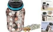 Digital Coin Bankmoney Counter Piggy Bankselectric Penny Bankcounting Jar