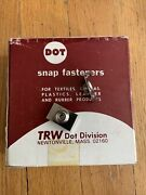 Trw Dot Windshield Clips Dot Fasteners S/s For 7/8 Molding Boat Cover Tent 100