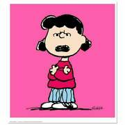 Peanuts, Lucy Pink Hand Numbered Limited Edition