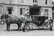 F000990 Photo Of Coach And Horses Outside The Winchester Assizes. Hampshire. C19