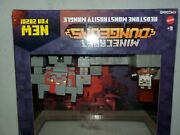 New Minecraft Dungeons Redstone Monstrosity Mangle Battle Set With Mini Figures