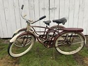 Awesome Vintage 1948 Schwinn Cruisers Matched Set