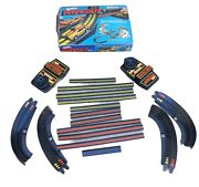 Vintage 1979 Mattel Hot Wheels Wipeout Race Track Set Incomplete Please See Pix