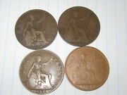 Lot Of 4 World Coins 71 Free Combined Shipping