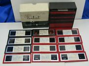 Lot Of 47  1950's Color 3d Realistic Stereo Glass Slides  Family Pictures