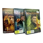 Macgyver Complete Season 1-3 Dvd, Region 4, Pal - Mostly Sealed