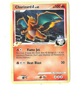 Pokemon Card Charizard 20/147 2009 Great Condition In Protective Cover.