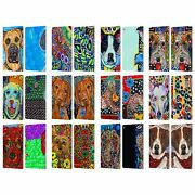 Official Mad Dog Art Gallery Dogs 2 Leather Book Wallet Case For Fire