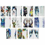 Official Pixie Cold Animals Leather Book Wallet Case Cover For Fire