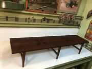 Lane Rectangular Mid-century Modern End Table Coffee Table Style 99-09 Inlaid
