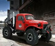 Rst Dodge Power Wagon Rc Crawler With Flip Up Body Shell And Battery And Charger