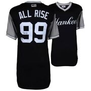 Aaron Judge All Rise Autograph Jersey Rare