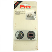 Fizz Clock Thermometer Accessories Nos Fits Universal Type Car Made In Japan