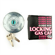 Guide Win Locking Gas Cap With Keys Nos Fits Universal Vintage Car Gw022