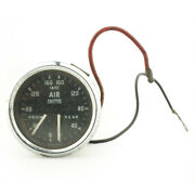 Vintage Classic Smiths Dual Air Pressure Gauge 52mm Fits Ford D Bedford Aec Nos