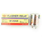 Gen Flasher Relay 12v Nos Fits Universal Type Car 3f-312us