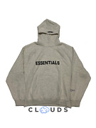 Fear Of God Essentials Pullover Hoodie And039oatmeal Heatherand039
