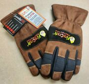 Xxl Structural Fire Fighting Gloves - Certified Nfpa 1971 Compliant