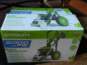 Greenworks 2000-psi 1.2-gpm Cold Water Electric Pressure Washer Gpw2006
