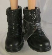 Barbie Twilight Eclipse Vampire Victoria Doll Clothes Black Hiking Boots Shoe