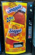 Vendo 540 Cold Drink Bottle Can Vending Machine Snapple