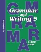 Saxon Grammar And Writing 2nd Edition Grade 5 Student Textbook By Text English P