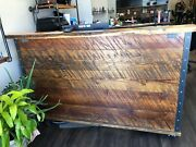 Handmade Solid Wood Desk. For Home Office Salon Bar Or Restaurant. Made In Us