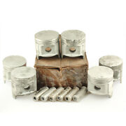 Toyota Land Cruiser Fj40 2f 1975andndash1984 Piston Assy With Pin 6 Cylinders 0.25...