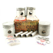 Fiat 1100d 1957 Andndash 1958 Piston Assy With Pin Oversize 0.10 72mm Nos 4 Cylind...