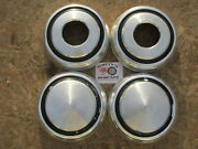 1970and039s-80and039s Dodge Pickup Truck Van 4x4 Poverty Dog Dish Hubcaps Set Of 4