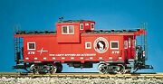 Usa Trains R12110 G Great Northern Extended Vision Caboose Red/silver