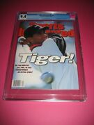 Tiger Woods Sports Illustrated Cgc 9.4 Rookie Cover 10/28/96 1st Cover
