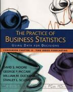 The Practice Of Business Statistics Companion Chapter 13 Time Series Forecastin