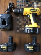 Xrp Dewalt 1/2 Drill Cordless 3 Battery And 1 Charger