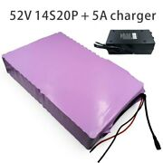 With 5a Charger 70ah 52v 48v Battery E-bike Electric Bicycle Li-ion Customizable
