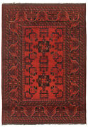 Vintage Hand-knotted Carpet 3and0394 X 4and03910 Traditional Oriental Wool Area Rug